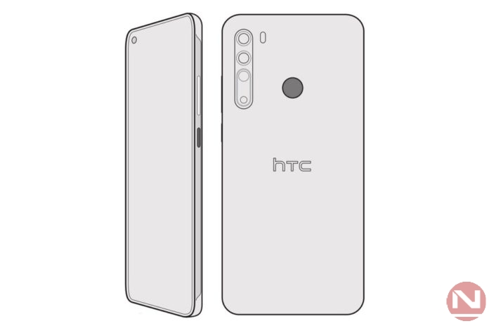 HTC Desire 20 Pro Sketch Leak Reveals The Entire Design