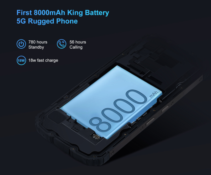 """King Battery""- Oukitel WP10 5G Available on Banggood for just $379.99"