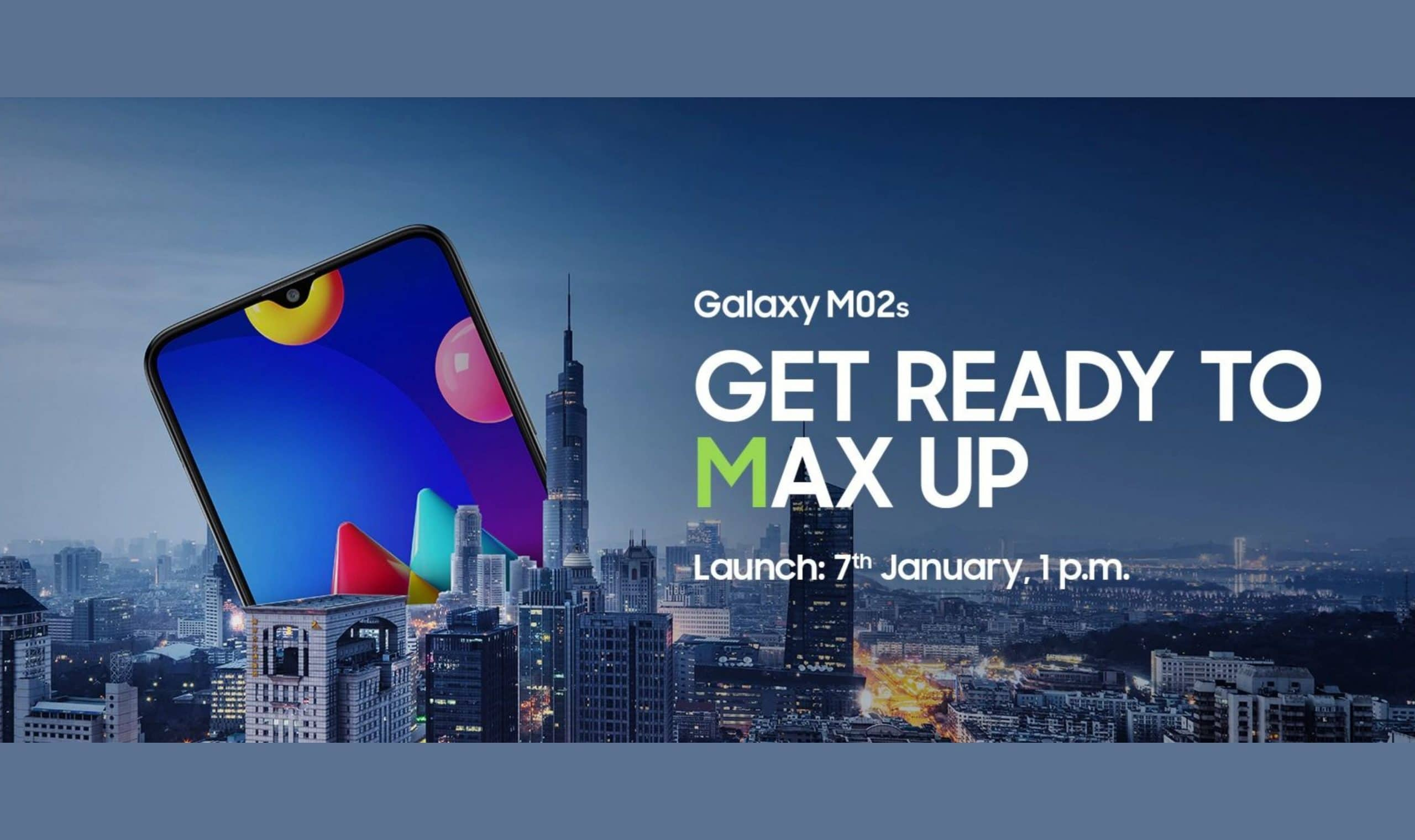 Galaxy M02s specs and price revealed ahead of January 7 India launch