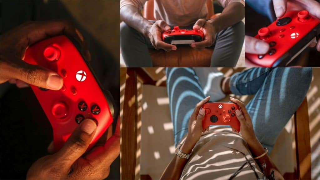 The new Xbox Wireless Controller in Pulse Red is a stunner