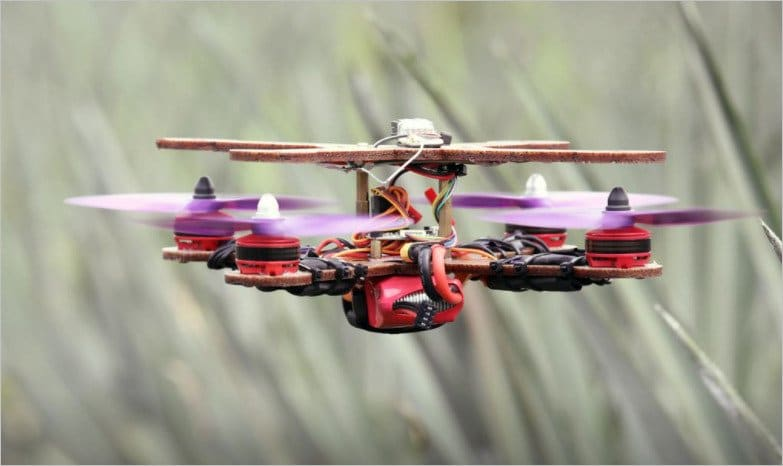Malaysian researchers showcase a drone manufactured from recycled pineapple leaves